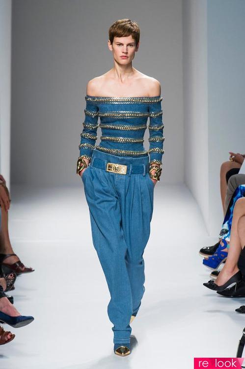 Модные блузки и топы весна-лето 2014