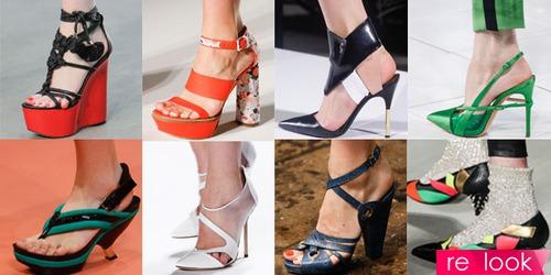 Обувь в тренде - весна 2014
