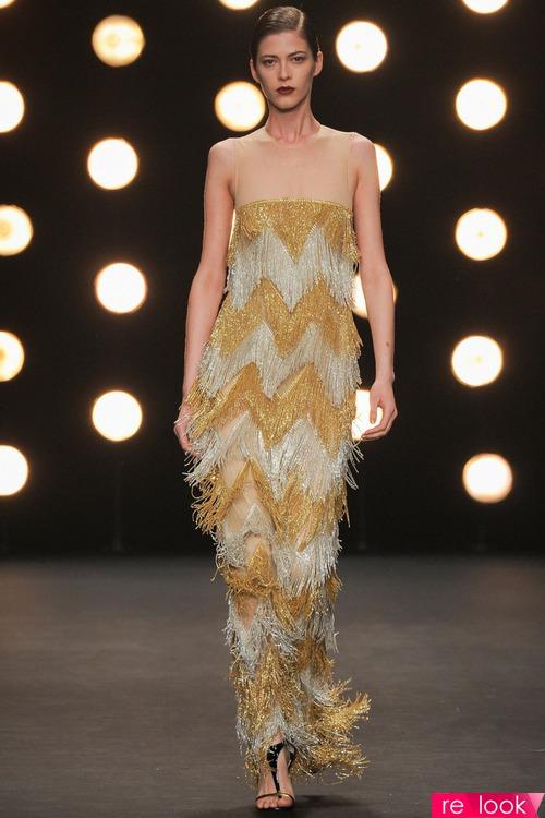 Тренд моды 2014 - бахрома