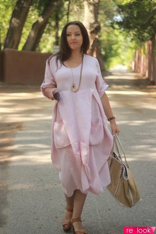 bee0a014e8e2238 Льняное платье: Территория моды - мода на Relook.ru