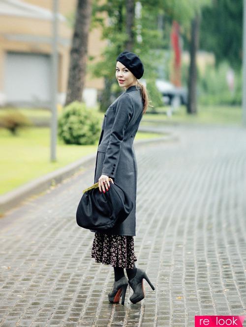 Ульяна Сергеенко на Парижской Неделе Моды
