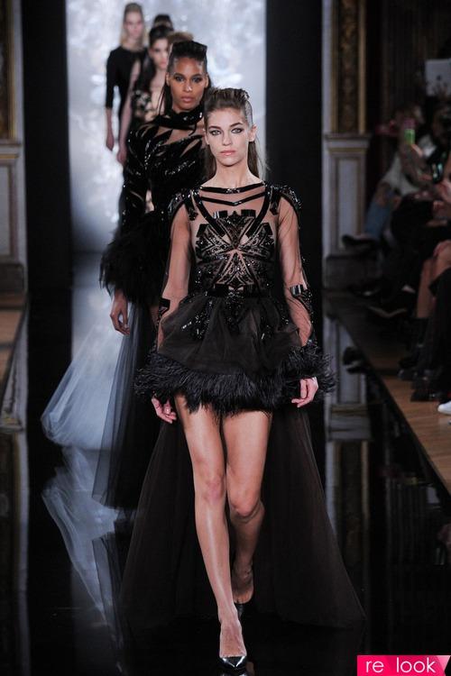 Черно-белый рок от Валентина Юдашкина  Модная жизнь - мода на Relook.ru 1d099866307