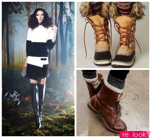 Обувные тренды зимы 2014-2015