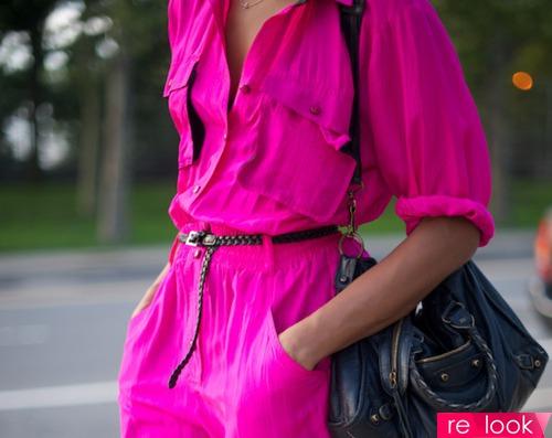 Розовый неон: за и против