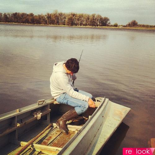 Рыбалка-весьма напряженное хобби..