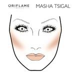 Подиумный макияж:  Маша Цигаль, весна-лето 2015