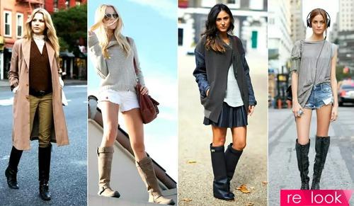 Как носить сапоги с широким голенищем   Территория моды - мода на ... 7bab8f17a49