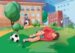 ПЕРВАЯ ПОМОЩЬ от ХАРТМАНН при ушибах и растяжениях для юных чемпионов
