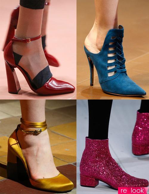 Модная обувь осень-зима 2014-2015