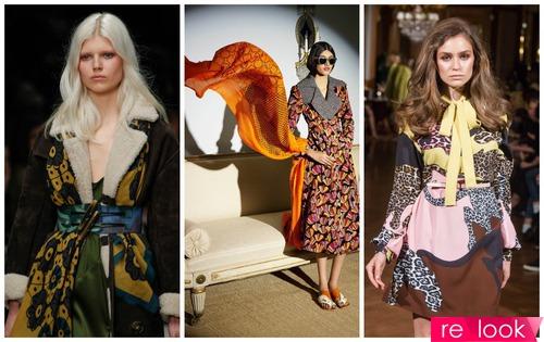 Как носить платки и легкие шарфы: идеи дизайнеров на осень-зиму 2014-2015