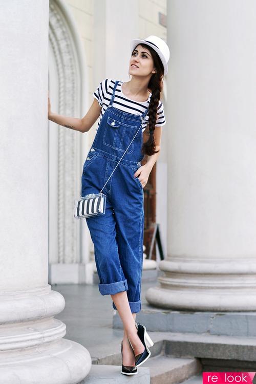 e0fd92f3ad9f С чем носить джинсовый комбинезон   Территория моды - мода на Relook.ru