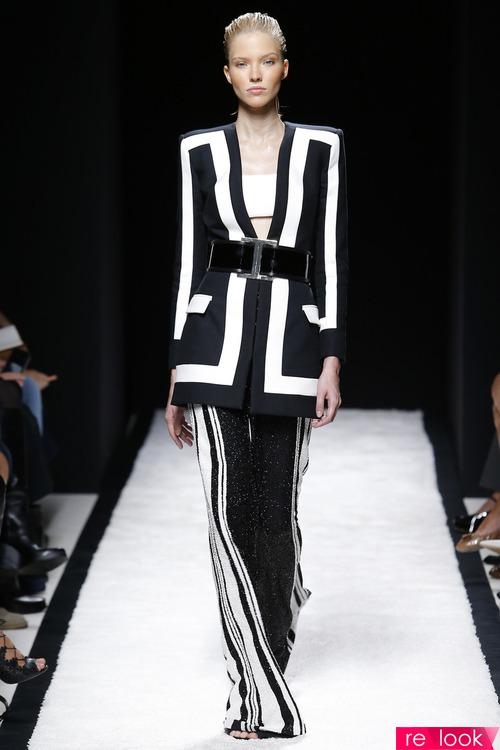 Тренд моды весна-лето 2015: black and white