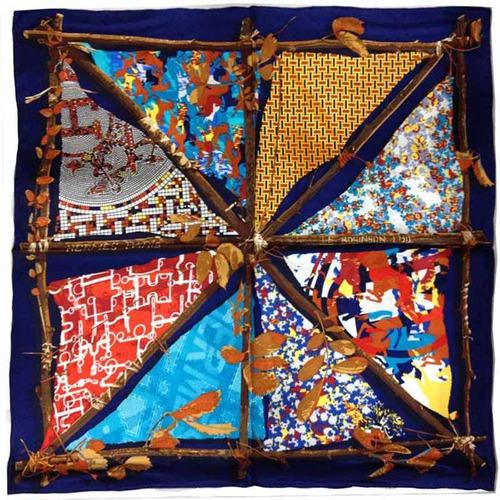 Модные узоры на платках