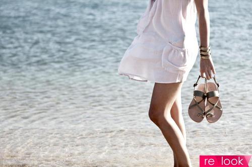 Пляжная мода 2015: обувь