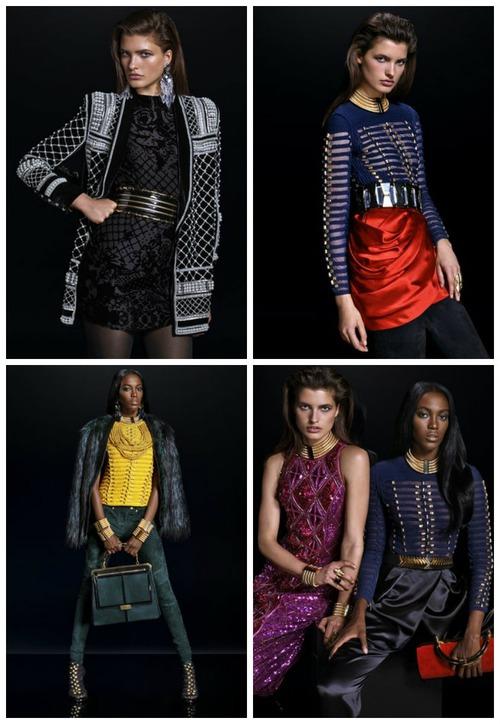 Balmain и H&M - новая коллекция