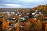 Левитановская осень-золотые берега