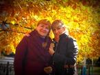 Наша с мамочкой- осень!