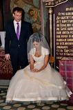 За несколько минут в ожидании венчания..