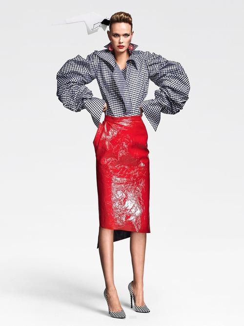 Ronald van der Kemp Fall 2016 Couture: полёт фантазии