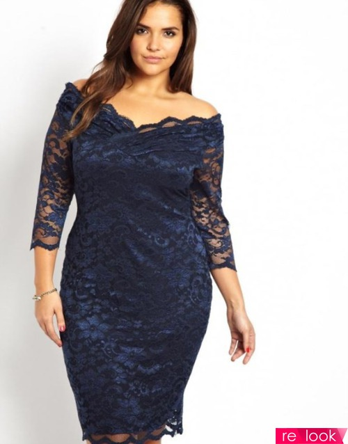 Мода Plus Size: коктейльные платья