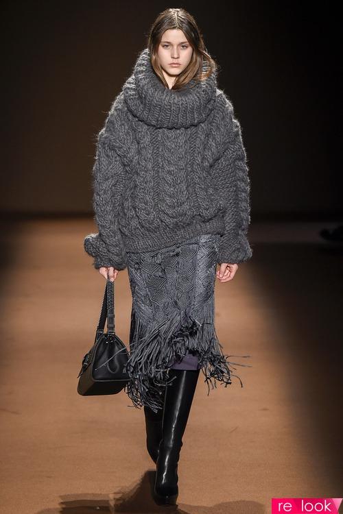 Модные свитера фактурной вязки