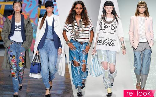 Модные джинсы весны-лета 2016