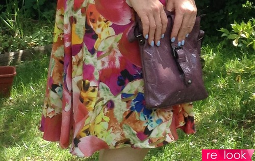 Мои летние образы с юбкой (1я с цветочным принтом)
