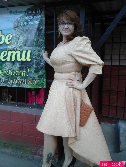 Розовое золото для рыжих ))