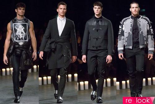 Мужчины на пике высокой моды