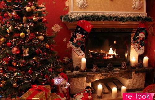 Новогодний интерьер в стиле Огненного Петуха. Встречаем праздник со вкусом