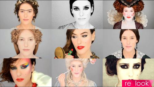 История возникновения макияжа