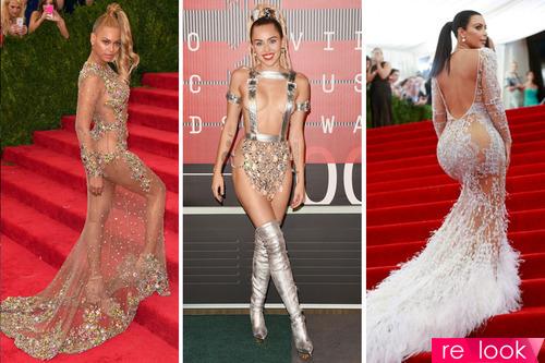 «Голые» платья - тренд, который не выходит из моды