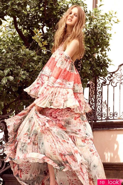 Стиль Бохо в коллекции бренда Roberto Cavalli Resort 2017