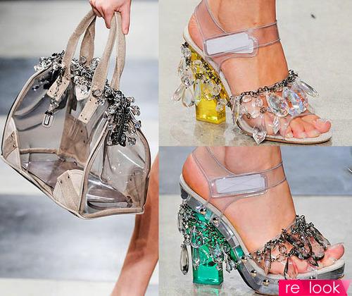 Пластиковая обувь – стиль и невесомость