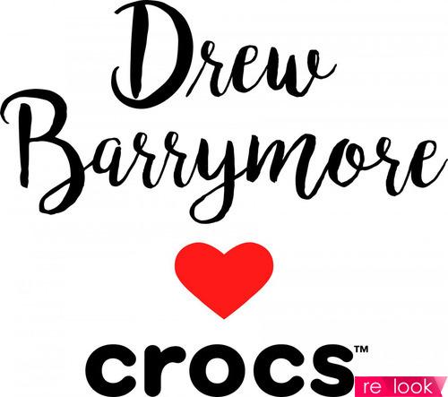 Drew Barrymore love Crocs