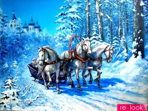 Какой транспорт используют новогодние волшебники?