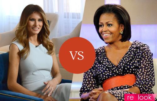 Мелания Трамп vs Мишель Обама
