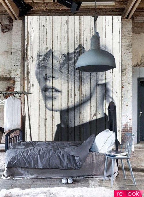 Художественная роспись в интерьере квартиры