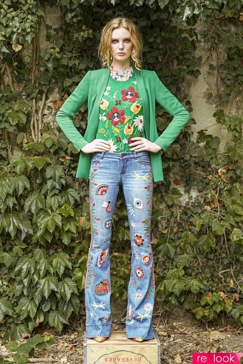 Модные джинсы весны и лета 2017