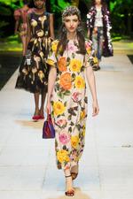 Тренд моды лета 2017: цветочный принт