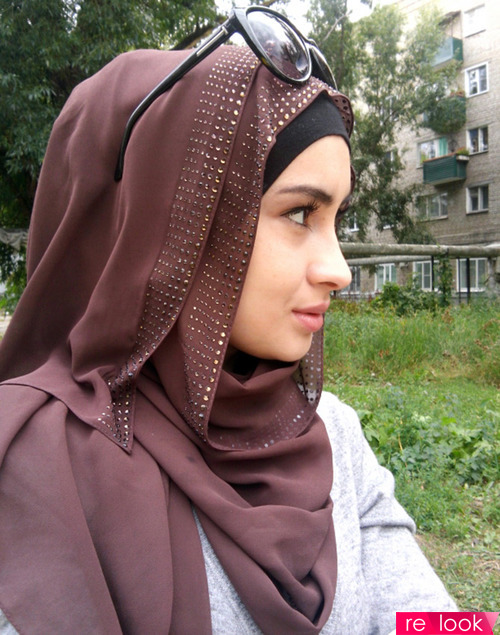 Показ мусульманской моды в Чечне
