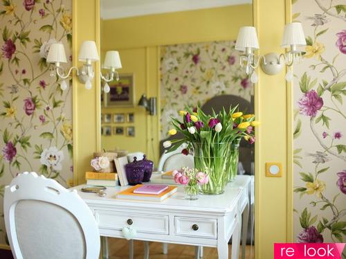 Весенний интерьер или как пригласить весну в дом