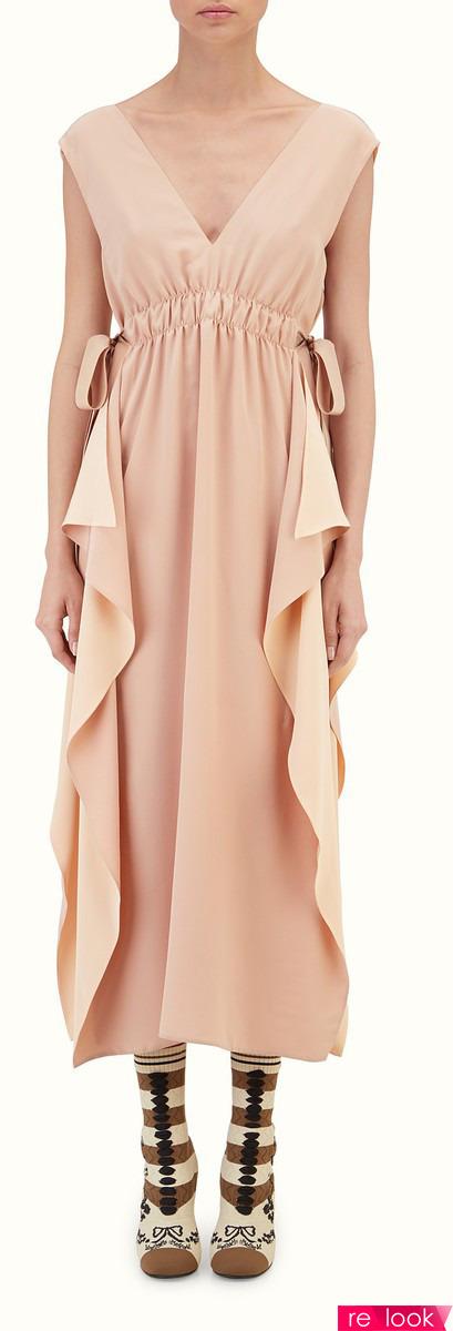 Модные платья и пальто из весенне-летней коллекции Fendi 2017