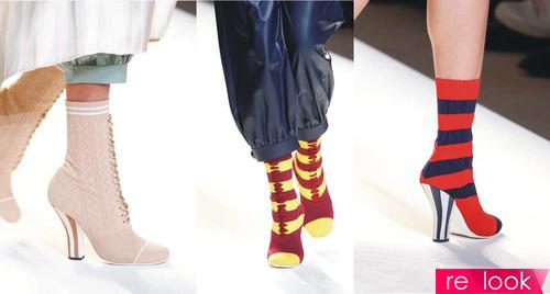 Модная обувь для весны и лета 2017 от бренда Fendi