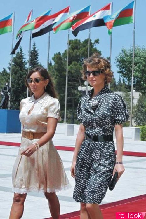 Первые леди стран: Мехрибан Алиева и Асма аль-Асад