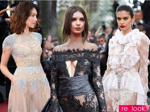 «Голые» платья Каннского кинофестиваля 2017