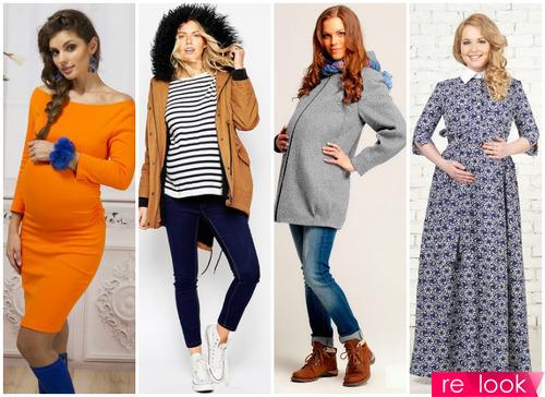 Мода для беременных - осень-зима 2017-18