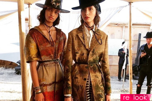 American Old Wild West от Dior: круизная коллекция 2018 года