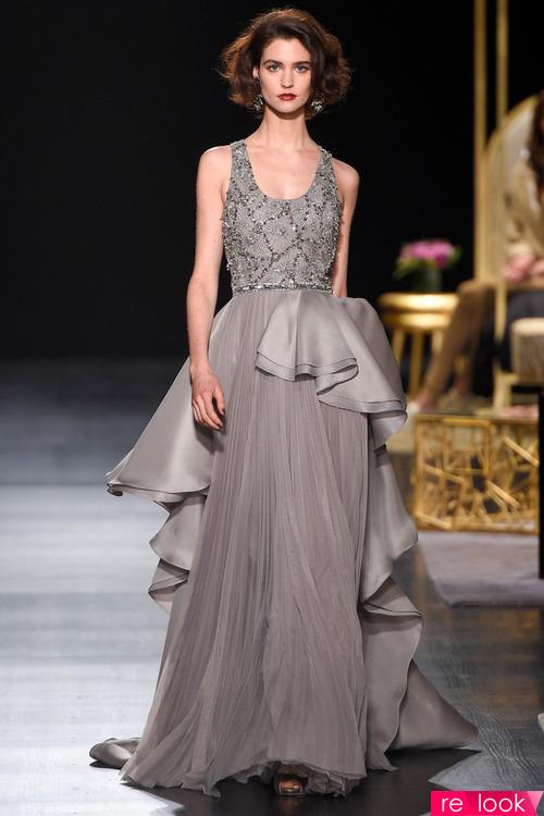 Модные вечерние платья осенне-зимнего сезона 2017-2018