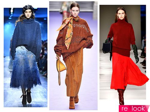 Как носить трикотажные вещи этой осенью – самые стильные комплекты